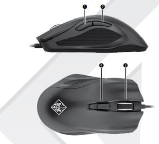 HP Omen mouse 400 - How to active sniper mode / programe but