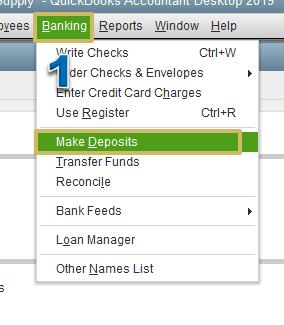 Solved How Do I Deposit A Check From An Insurance Reimbursement
