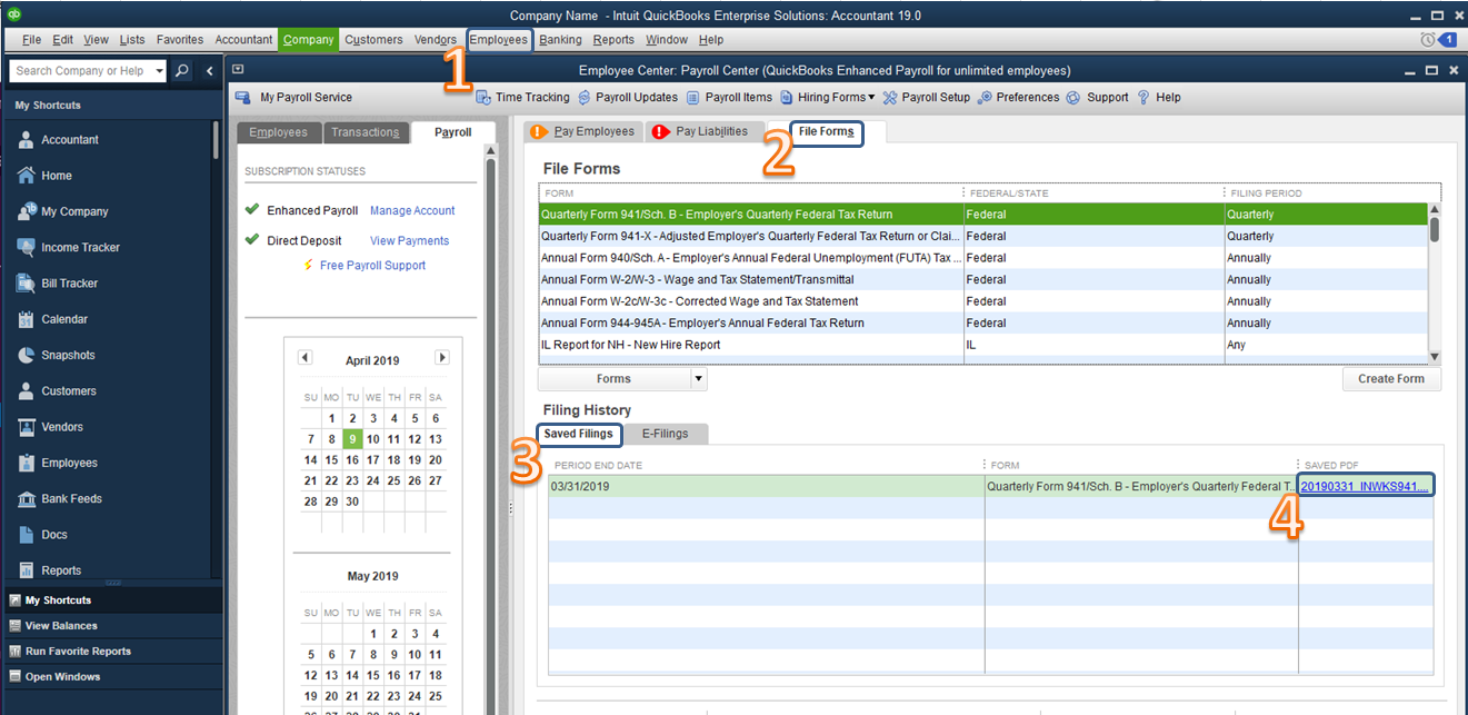 Missing Payroll Reports - QuickBooks Community