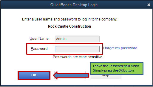 Solved: Why Quickbooks 2019 for Mac is asking me for a pas