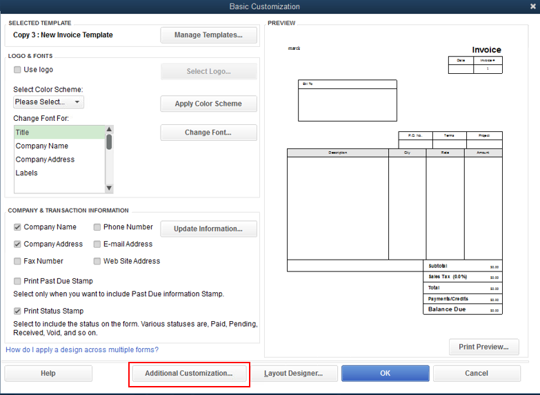 solved  how can i make my custom invoice template the
