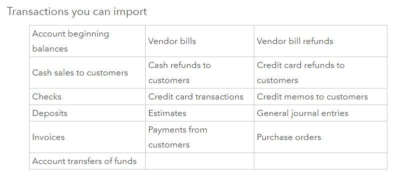 Import transactions - QuickBooks Community