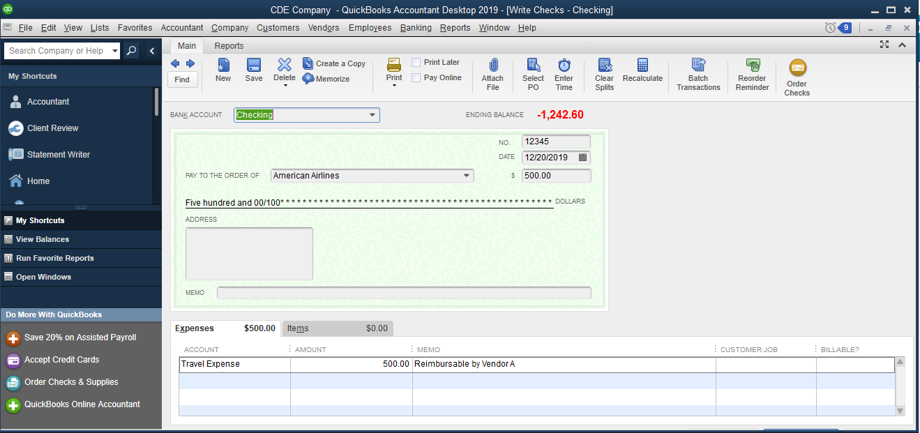 74458acc 15cc 4aeb 81d0 b57eab4c7226.default - How To Get A List Of Checks Written In Quickbooks