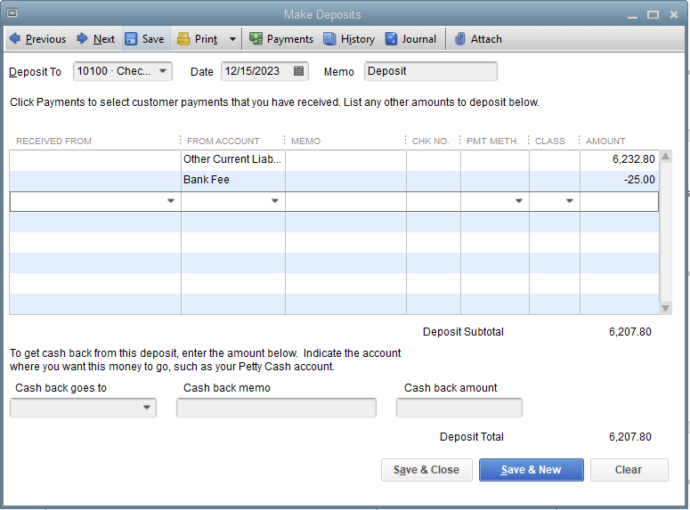Solved: Wire Transfer for a bill payment cleared the bank