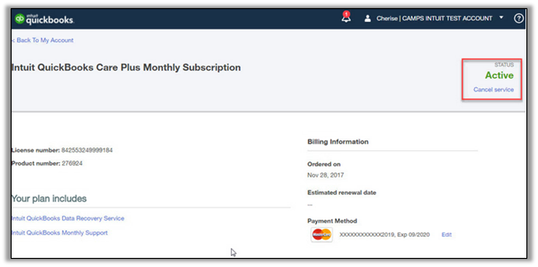 Solved: Annual Subscription Charges - QuickBooks Community