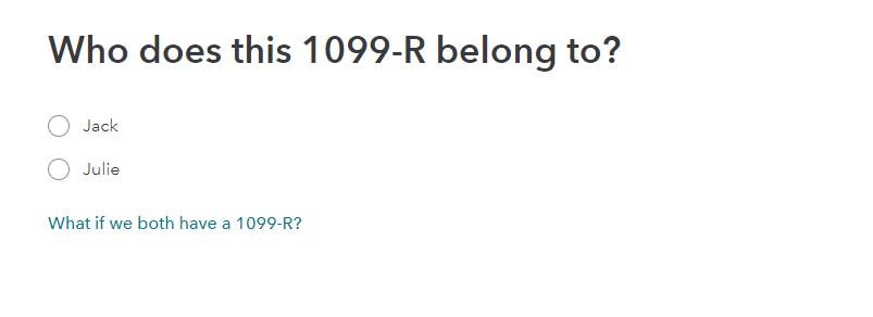 1099-R owner