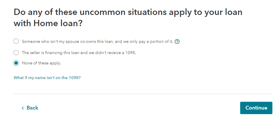 Uncommon issues